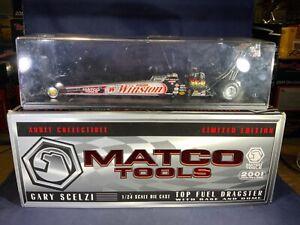 F8-23 GARY SCELZI MATCO TOOLS / WINSTON - NHRA TOP FUEL DRAGSTER - 1:24 SCALE