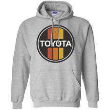 Toyota Vintage Retro Logo Graphic Hoodie Sweatshirt Truck Car