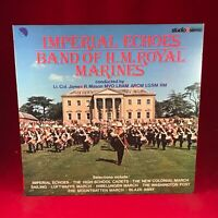 THE BAND OF HM ROYAL MARINES Imperial Echoes 1980 UK Vinyl LP MARCHING EXCELLENT