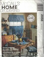 McCall's Home Decorating Pattern 2056 Kitchen Essentials Uncut 14 Projects New
