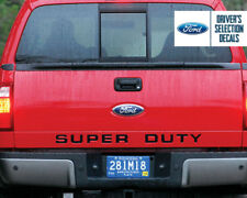 2008-2016 FORD SUPER DUTY TAILGATE LETTER INSERTS VINYL STICKERS DECALS F250-450