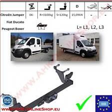 Gancio traino Citroen Jumper / Fiat Ducato L=L1/L2/L3 2006- OMOLOGAZIONE