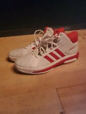 NEW ADIDAS FUTURESTAR BOOST SIZE 16 MEN'S BASKETBALL SHOES  WHITE RED