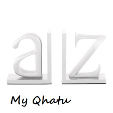 IKEA Inkilning Bookend 2 letters A-Z  White 204.327.10