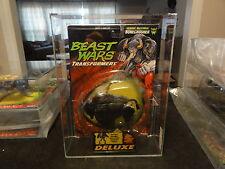 Transformers AFA Beast Wars Deluxe 1997 Bonecrusher Sealed MIB BOX