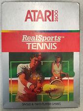 Atari 2600 REALSPORT TENNIS