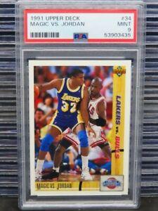 1991-92 Upper Deck Magic VS. Jordan Classic Confrontation #34 PSA 9 (35) D260