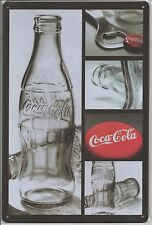 "Metal Tin Sign 30 x 20 cm Coca Cola Coke "" Collage """