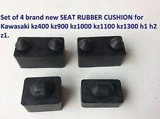 Set of 4 new SEAT RUBBER CUSHION for Kawasaki kz400 kz900 kz1000 1100 h1 h2 z1