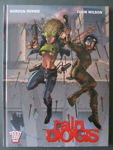 Raindogs 2000 AD Graphic Novel Comic Hardback Book Rebellion