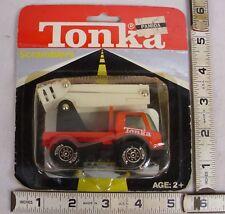 Tonka Scramblers #215 Bucket Lift Truck Mint On Card 1980