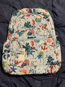 Vera Bradley Essential Large Backpack NWT Anchors Aweigh