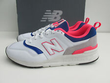 BNIB NEW BALANCE UK 9  CM 997 HAJ white / pink / blue 997haj 997h