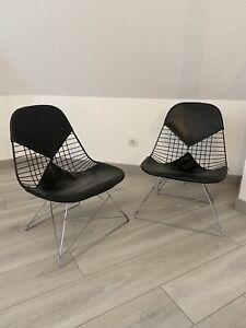 Herman Miller Ancienne Chaise EAMES Design LKR-2 Bikini An 52 Old Chair Métal X2