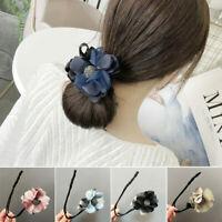 Women Twist Headband DIY Hairstyle Tool Magic Hair Bun Maker Hair Band