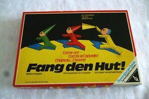 """Ravensburger """"Fang den Hut"""" Mittlere Ausgabe von 1971 ab 6 Jahren"""