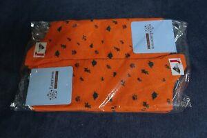 LOT of 6 Luerown New York Orange Socks Size: 40-45