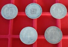lotto argento 2 lire Umberto I