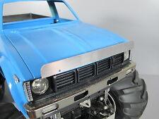 New Aluminum Front Hood Bug Deflector Plate Tamiya 1/10 Hilux Clodbuster Truck