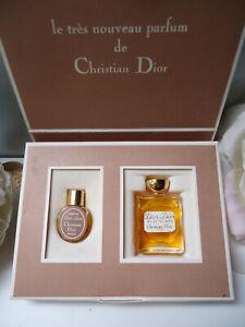 Christian Dior Dior-Dior 2ml Parfum 5ml EDT Vintage 1976 Priceless Miniature Duo