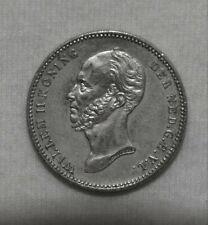 Silber/Silver Niederlande/Netherlands Willem II, 1849, 25 Cents pfr/MS 63