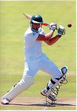 THENIS DE BRUYN - Signed 12x8 Photograph - CRICKET - SOUTH AFRICA