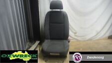 HOLDEN COMMODORE VE SERIES 1 OMEGA  CLOTH DRIVERS SEAT