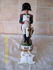 """VINTAGE GRANDI 12 """"NAPOLI / Capodimonte ITALIANO Napoleonico Soldier Figure # 5"""