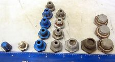 Aviation Parts 16 Hydraulic Locking Caps / some with Gaskets 8 oz bag (290