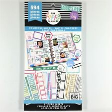 The Happy Planner Colorful Boxes Sticker Book Pack Of 594 Me & My Big Ideas