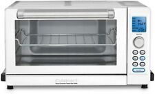 Cuisinart Deluxe White Convection Toaster Oven Broiler Digital LED Button White
