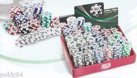 Rouleau de 25 jetons World Series of Poker 14g Wsop chips roll valeurs 1 à 5000