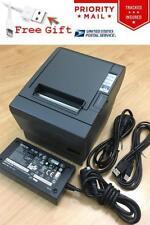 Epson TM-T88III POS Thermal Receipt Printer USB Interface & PS-180 Power Supply