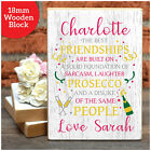 Personalised Gifts for Best Friends BFF Prosecco Lovers Birthday Gifts for Her