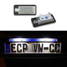 Canbus CREE LED License Plate Light 6000k White lamp For Audi A3 A4 A6 S3 Q7 F2