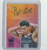 2019/20 Court Kings Fresh Paint Brandon Clarke Autograph Rookie Card #'d 25/25