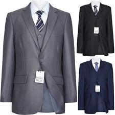Boys Slim Fit Navy ,Grey , Black, Royal Suit 1 to 15 year RRP 39.99. Free P&P