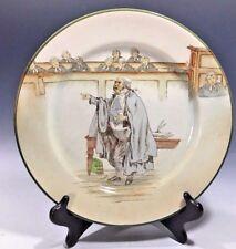 """Royal Doulton Dickens Ware Vintage Decorative Plate D2973 Sergeant Buzfuz 10.5""""D"""