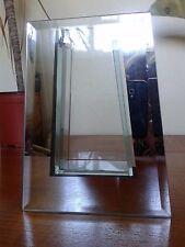 Verre miroir décoratif vase pièce maîtresse ornement 20cm tall