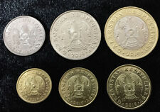 KAZAKHSTAN SET 6 UNC 1 5 10 20 50 100 TENGE 2019 P NEW COIN