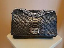 VIMODA – Paris Pewter Leather Clutch Shoulder Bag Purse