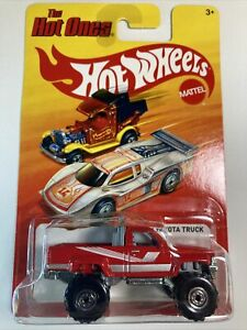 HOT WHEELS 2012 The Hot Ones 1987 Toyota Pickup Truck Red Rare VHTF w/Sterling
