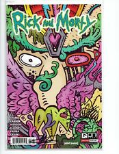 RICK AND MORTY #31 VARIANT NICK DIFABBIO SIGNED & SKETCH BY ELLERBY