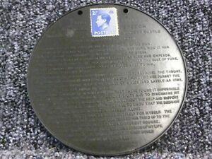 King Edward VIII 11th December 1936 Farewell Speech on Bakelite Disc