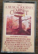 ACKER BILK    A MUSICAL JOURNEY CLARINET   Vol 2   CASSETTE TAPE  (NA 687C) (18)