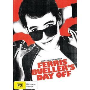 """FERRIS BULLER'S DAY OFF (2009: DVD) BRAND NEW / SEALED - """"REGION 4"""""""