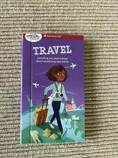 "American Girl mini travel book mini book for 18"" doll NEW"