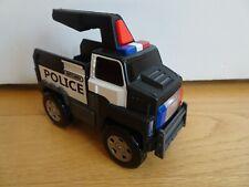 Matchbox Flashlight Police Truck DWR33 Mattel 2016 w/Fresh Batteries Works Great