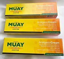 100g Namman Muay Thai Balm Boxing Muscle Pain Relief Analgesic Cream Aches 3 pcs