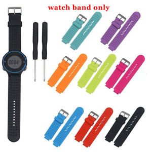 For Garmin Forerunner 220 230 235 620 630 Watch Silicone Band Strap Wristband